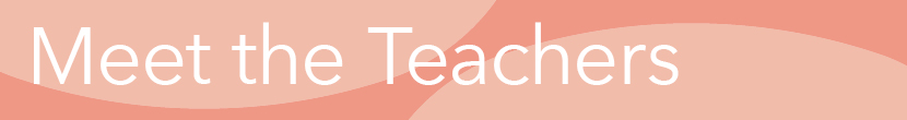 meet the teachers header